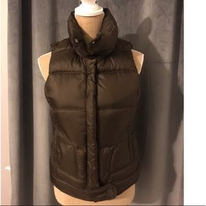 Women's puffer quilted vest
